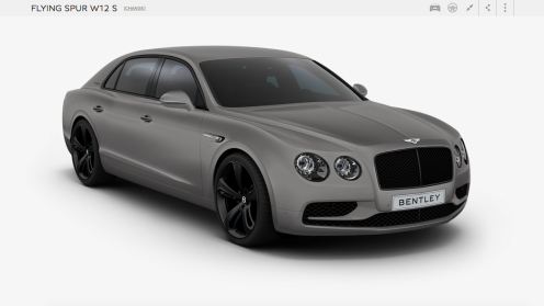 Bentley Light Grey Satin