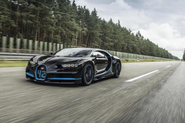 2017 Bugatti Chiron World Record