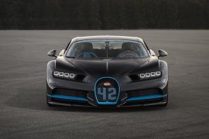 2017 Bugatti Chiron World Record