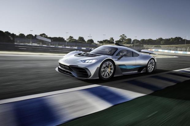 2017 Mercedes-AMG Project One Concept