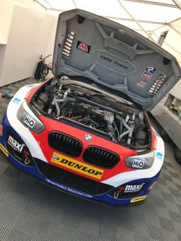BTCC Touring Cars Croft 2018