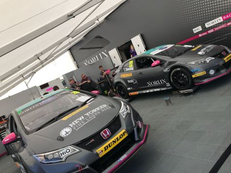 BTCC Touring Cars Croft 2018 00009