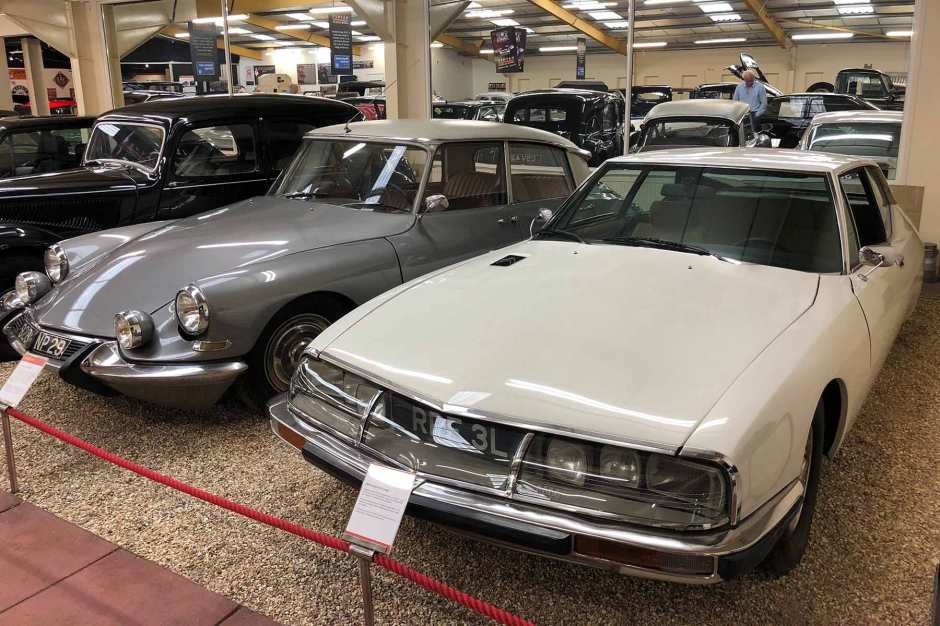 Citroen DS and SM
